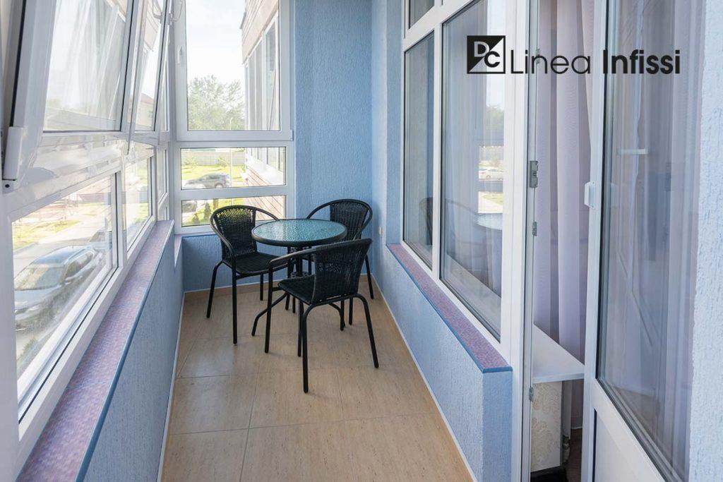 finestre in pvc interne ed esterne