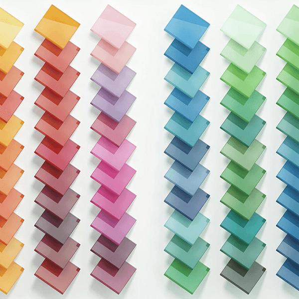 vetri colorati coprenti codice ral per porte in vetro